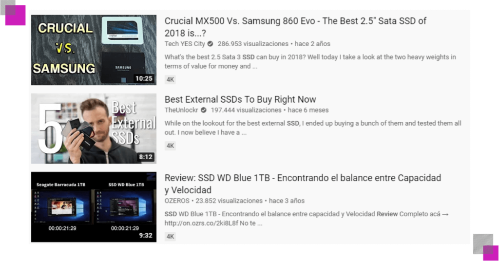 tutoriales de youtube sobre discos ssd