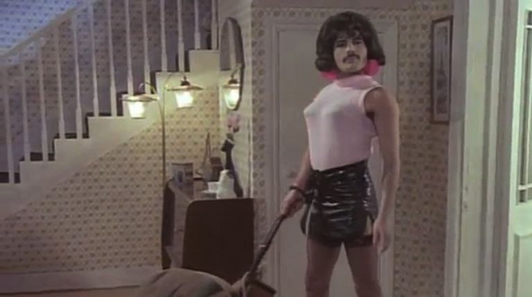 screenshot from freddie mercury i want to break free videoclip